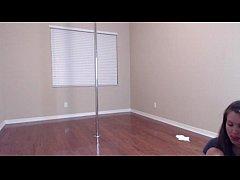Lelu Love dances on the pole in high heels - ww...