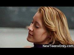 Latin Schoolgirl gets Jizzed On!
