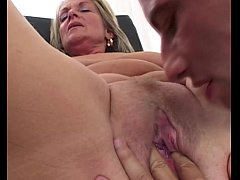 Blondie Mature Tight Anal Drilled By Young Cock