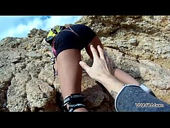MyFirstPublic Instructor of climbing fuck her s...