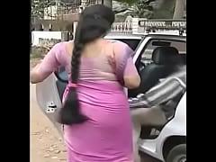 Serial actress Sukanya hot THICK long Hair Back...