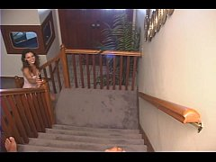 Baby Sitter sucks off her employer and swallows