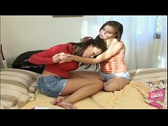Kelly Kline and Penny Flame Hot Lesbian Bedroom Sex