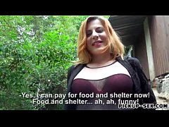 Czech slut Ryta gets banged for money