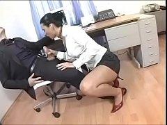 Hot Brunette Slut  gets fucked by her boss
