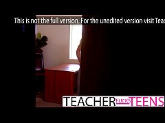 Teachers give innocent student hard fast fuck lesson