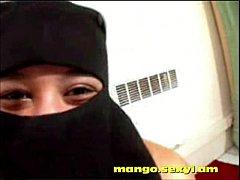 Tunisian girl shows her pretty body