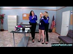 (alison&charlotte&julia) Teen Lesbos Girls In Hard Punish Sex Act Using Sex Dildos mov-09