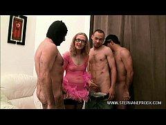 Teaser Christine belge mini gang-bang