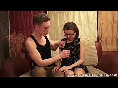 Casual Teen Sex - Bashful teeny wants firm cock