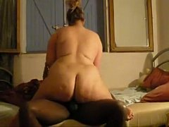 French Mature BBW Fucked By A Black Stud