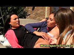 Lesbian urine fetishists