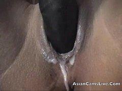 Asian Filipinas AsiansLive.Webcam pussy dildo m...