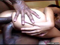 Brunette Latina Wants Black Cock