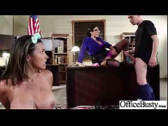 Hardcore Sex Tape In Office With Big Melon Tits Girl (ariella danica) video-10