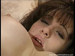 Goth Mother Home Alone and Horny
