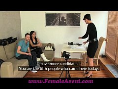 FemaleAgent Jealous casting won't share her fiance