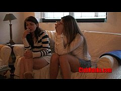 Submissive Milf gets spanking in pantyhose