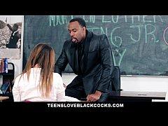 TeensLoveBlackCocks - Big Black Dicking On MLK DAY