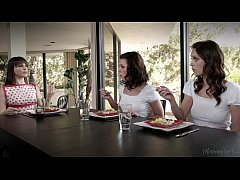 Mommy Dana DeArmond, Jade Nile and Adriana Chec...