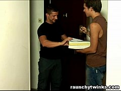 College Twink Seduced A Hot Jock