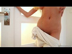 Hungarian sexy blond Bambi on Erotic Makeover m...