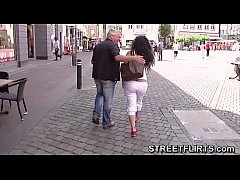 Horny casting agent looking for girls on the st...