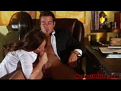 Maddy O Reilly office babe pussyfucked