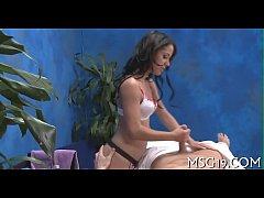 Massage pleased ending porn