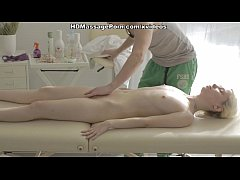 Kick-ass massage porn movie with a hot blonde s...