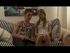 Blonde in hot anal sex video scene 1