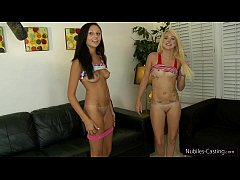 Nubiles Casting - Can her tight teen pussy take...