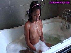 Petite-Teen-Bath-Time