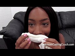Play full 3GP - Hardbody Black Girl Assfucked on Casting Couch