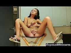 Cute little Whitney's Webcam Show