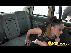 Fake Taxi Stunning Romanian with perfect tits g...
