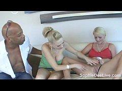Sophie Dee and Katie Cox crave big black cock!
