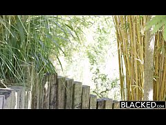 BLACKED Sexy Blonde Ash Hollywood Cheats with H...