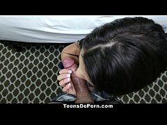 TeensDoPorn - Latina Carrie Brooks' Hardcore Porn Debut!