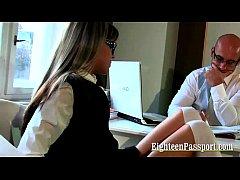 Naughty Schoolgirl Passing Her Exam