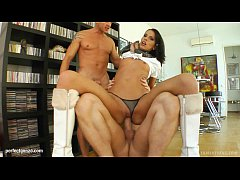 Queenie teen gets it hard gonzo style on Tamed ...