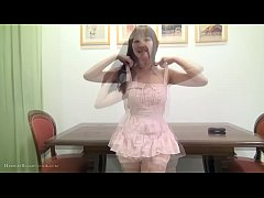 Busty, hot JAV girl in playsuit & toys