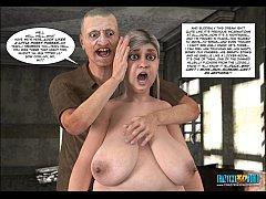 3d comic vozhos bride 6
