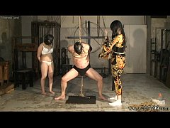 Japanese Femdom Kyouka Anal Dildo and Whipping