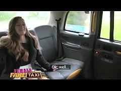 Female Fake Taxi Redheads tongue makes pretty p...