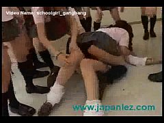 School Girls Gangbang And Force New Student Int...
