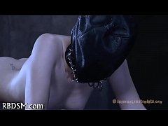 Dissolute torturing of babe's pussy