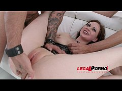 Tina Kay 4on1 mini gangbang & DP for Legal Porn...