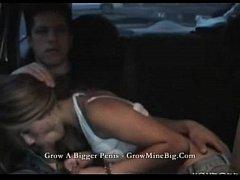 Argentina culeando en taxi