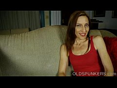 Super sexy old spunker talks dirty and has a ni...